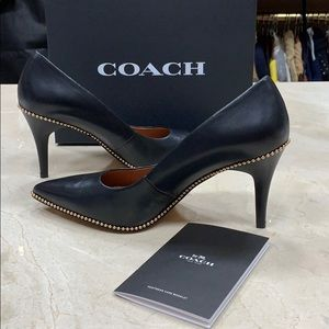 NIB COACH PARKER BALL CHAIN PUMP